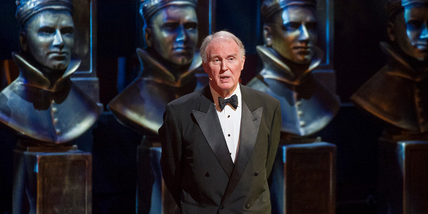 Tim Pigott-Smith at the Olivier Awards 2015 Photo by Alastair Muir.