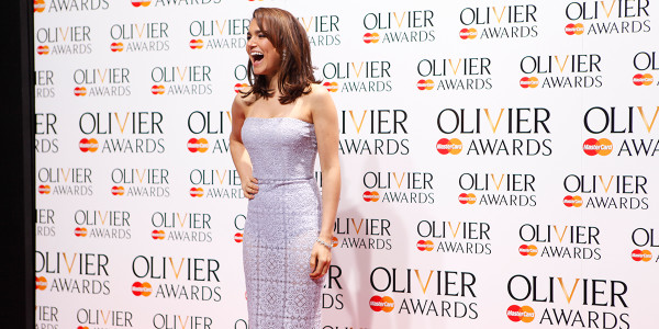 Samantha Barks, presenter of the Olivier Awards with Mastercard. Photo by Pamela Raith