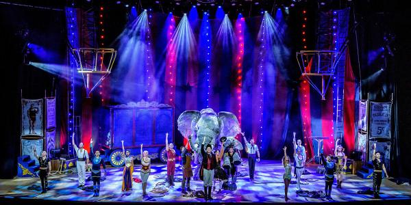 Circus 1903 at Southbank Centres Royal Festival Hall. Photo by Dan Tsantilis