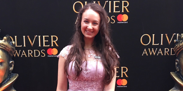 Pippa Stacey at the Olivier Awards