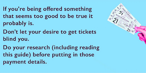 Ticketing tips