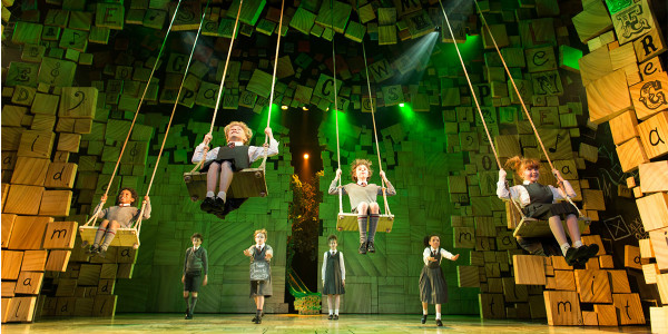 'When I Grow Up' Matilda production shot