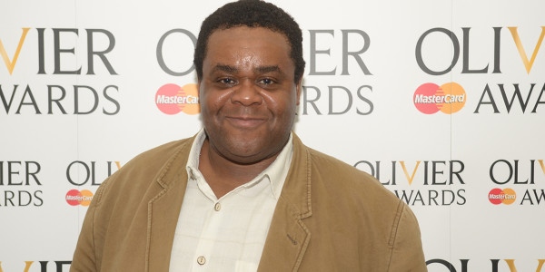 Clive Rowe at the 2012 Olivier Awards