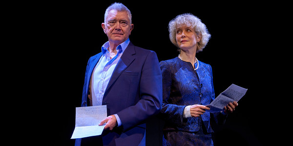Martin Shaw and Jenny Seagrove in Love Letters at Theatre Royal Haymarket