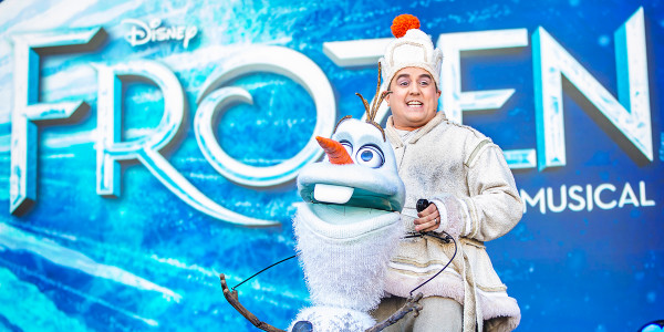 Disney's Frozen at West End LIVE 2021 (Credit: Pamela Raith Photography)