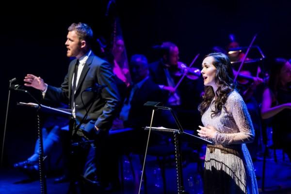 David Thaxton and Savannah Stevenson in Camelot In Concert at London Palladium (Photo: Lidia Crisafulli)