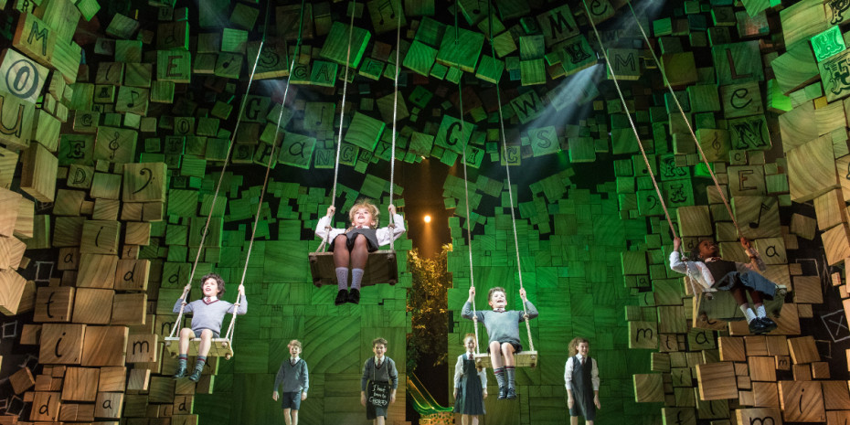 Matilda The Musical at the Cambridge TheatreMatilda The Musical at the Cambridge Theatre (Photo: Manuel Harlan)
