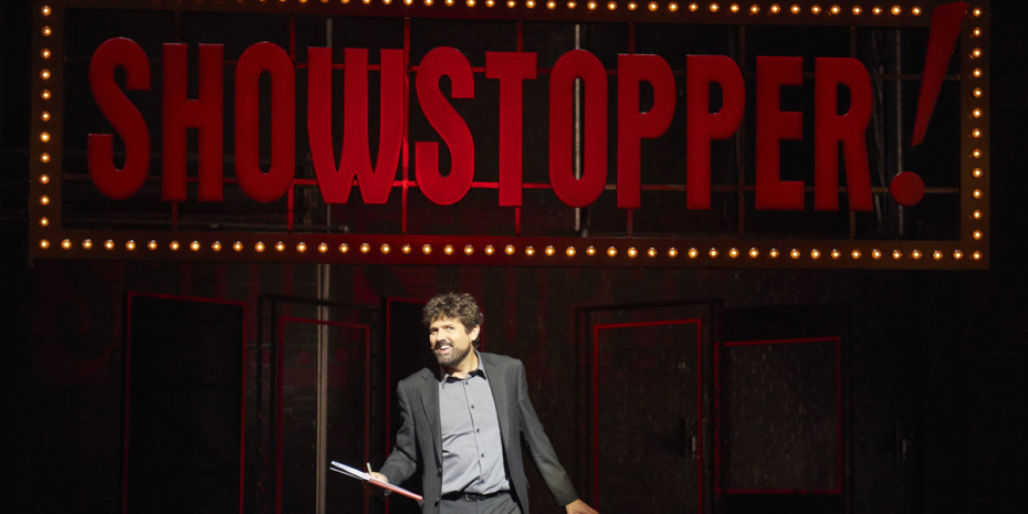 Showstopper! The Improvised Musical at The Lyric Theatre (Photo: Geraint Lewis)