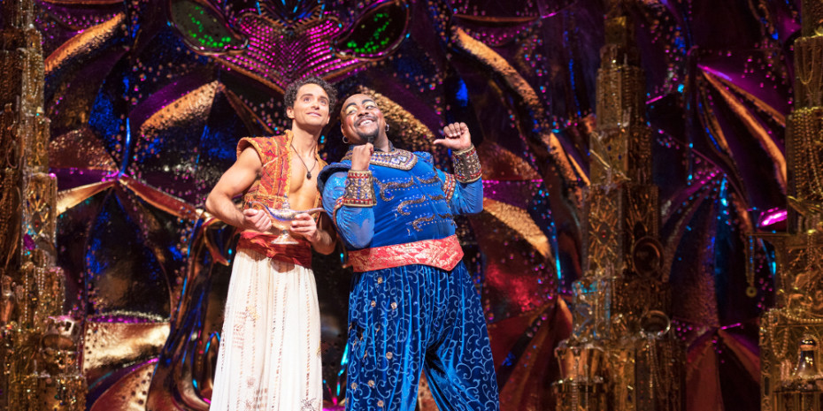 Disney's Aladdin at The Prince Edward Film (Photo: Johan Persson)