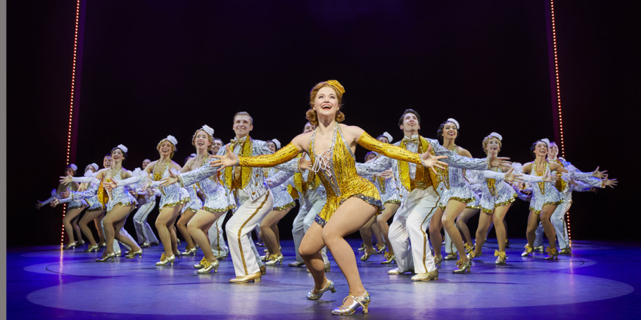 42nd Street at The Theatre Royal Drury Lane (Photo: Brinkhoff & Moegenburg)
