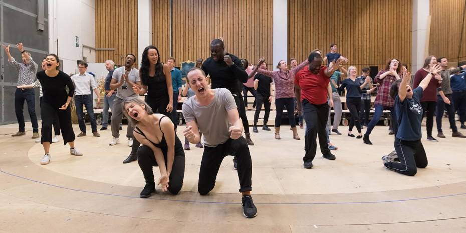 Rehearsals for Amadeus at the National Theatre (Photo: Marc Brenner)