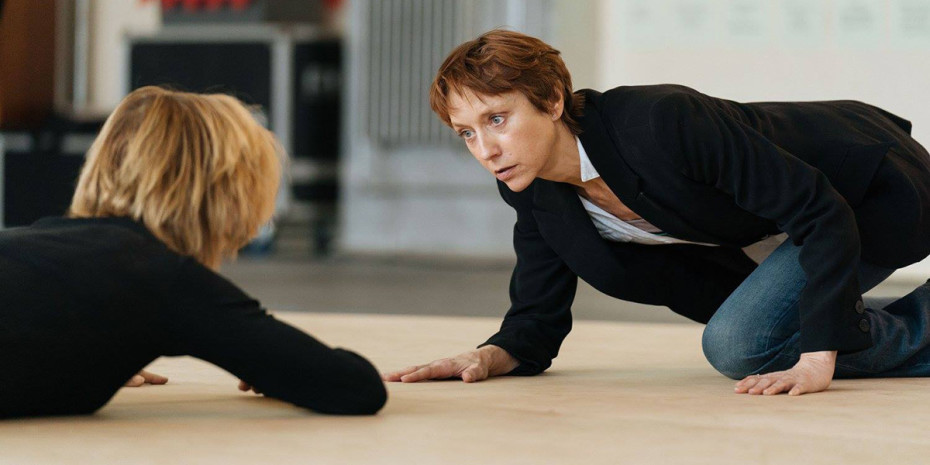 Juliet Stevenson and Lia Williams in rehearsal for Mary Stuart (Photo: Manuel Harlan)