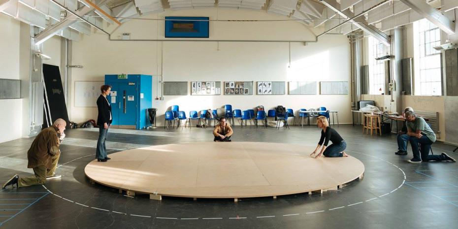 Rehearsals for Mary Stuart (Photo: Manuel Harlan)