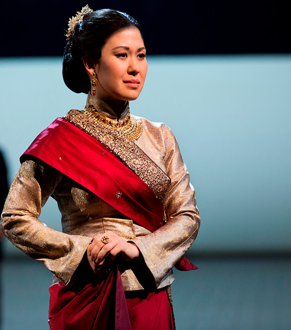 Ruthie Ann Miles and Kelli O'Hara in Lincoln Center Theater's production of The King And I (Photo: Paul Kolnik)