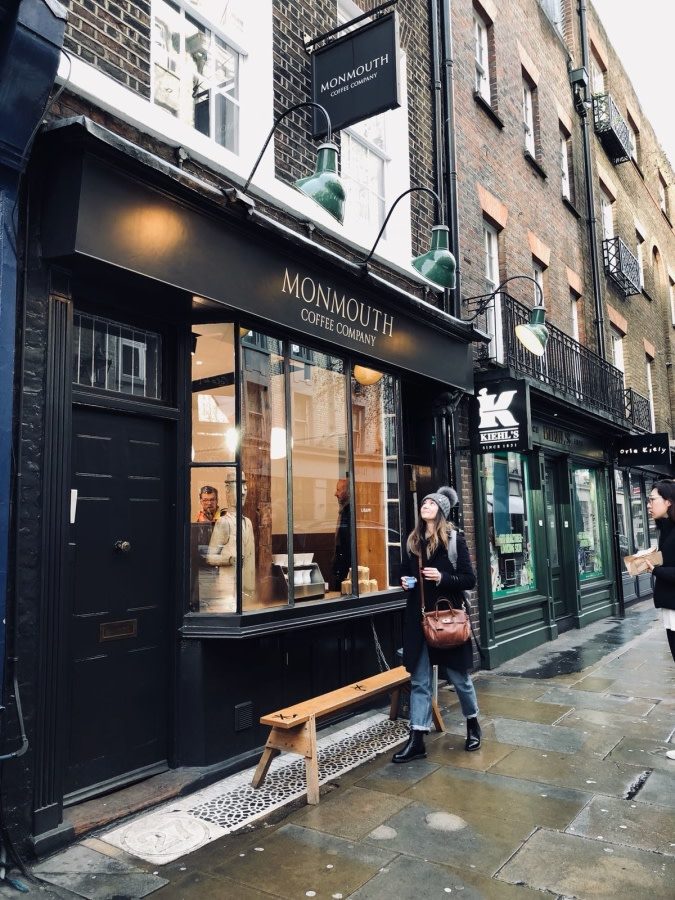 Covent Garden coffee - Claire Calvert's photo diary