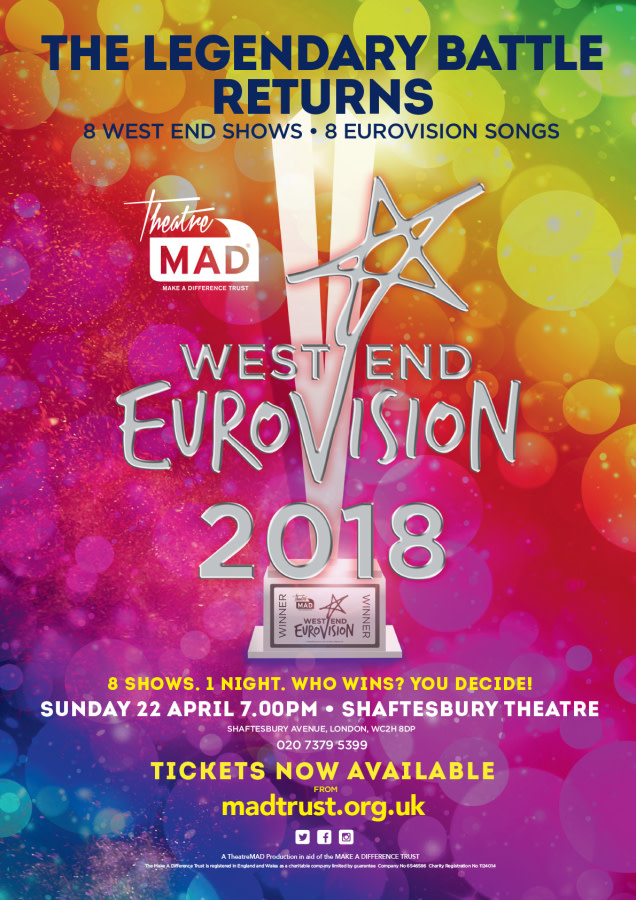 West End Eurovision poster