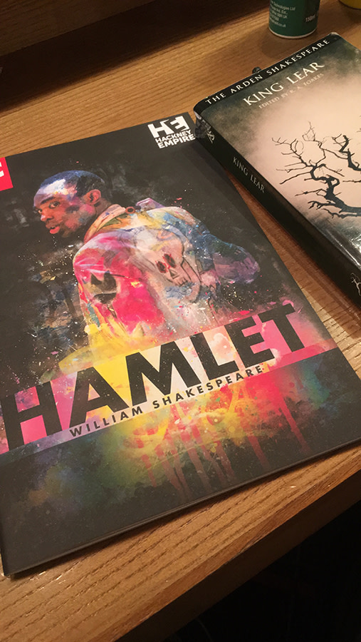 Hamlet backstage diary: one down