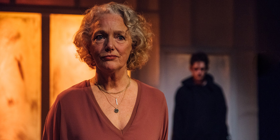Louise Jameson (Anita) and Thomas Mahy (Davey) in Vincent River (Photo: David Monteith Hodge)