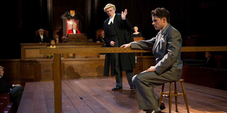 Witness For The Prosecution at London County Hall (Photo: Ellie Kurttz)
