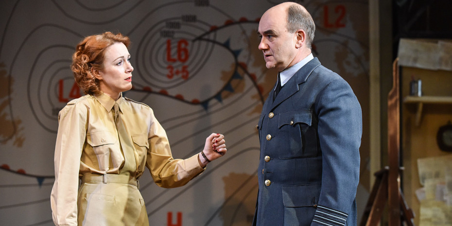 Laura Rogers and David Haig in Pressure (Photo: Robert Day)