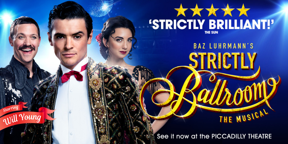 Strictly Ballroom The Musical at Piccadilly Theatre