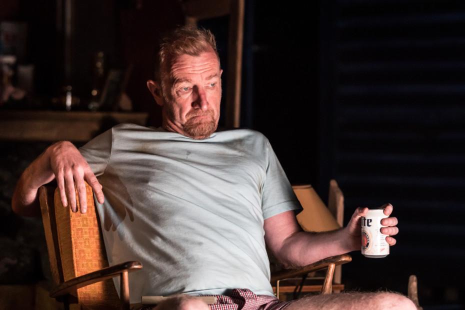 Steffan Rhodri as Ansel Smith - Killer Joe at Trafalgar Studios - Photographer Marc Brenner