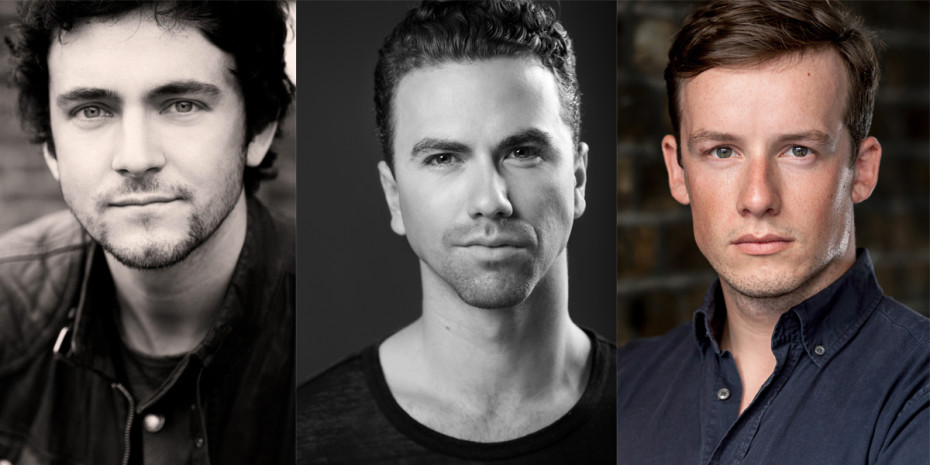 George Blagden, Richard Fleesham, Matthew Seadon-Young in Company