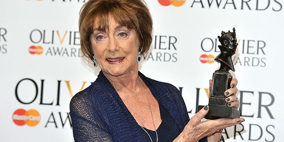 Dame Gillian Lynne at the Olivier Awards 2013