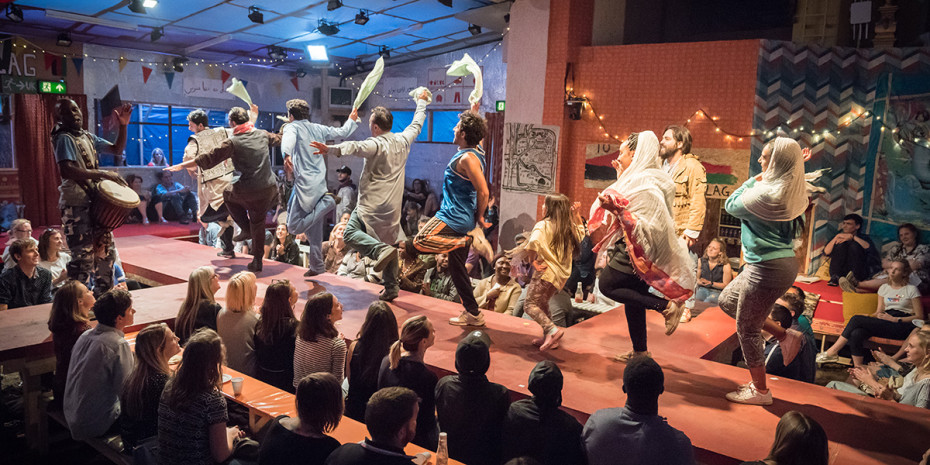 The Jungle at Playhouse Theatre (Photo: Marc Brenner)