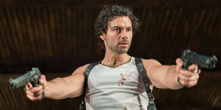 Aidan Turner in The Lieutenant Of Inishmore (Photo: Johan Persson)