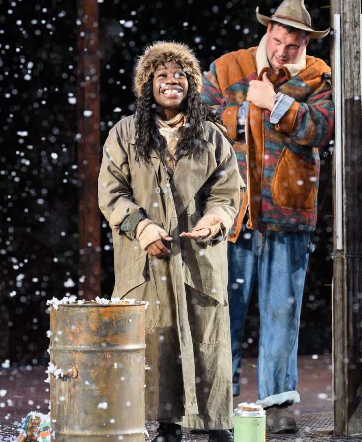 As You Like It. Me sha Bryan and Kristian Phillips. Photo Jane Hobson.