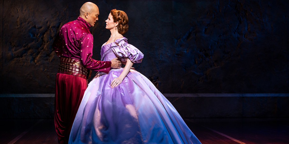 Ken Watanabe and Kelli O'Hara in The King And I