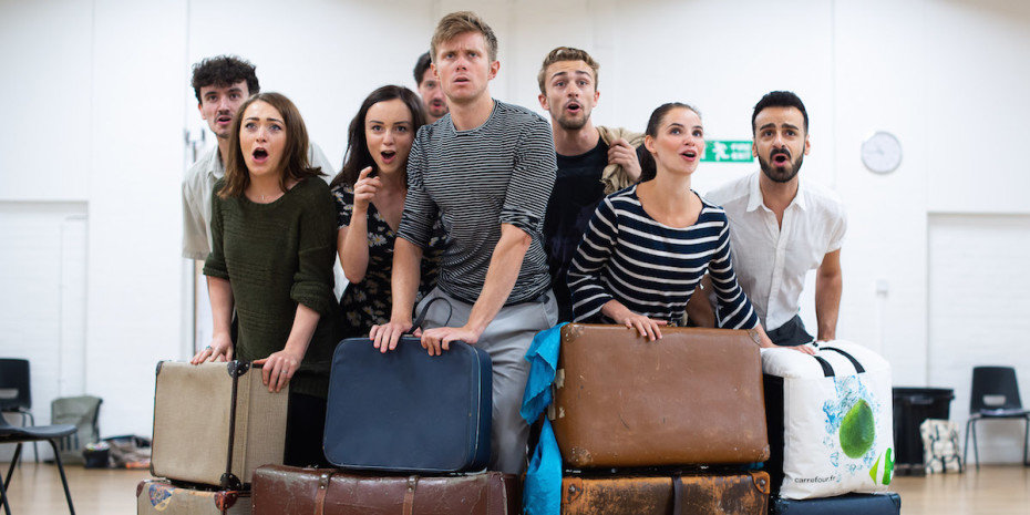 The cast of Broken Wings. Photos by Kate Scott