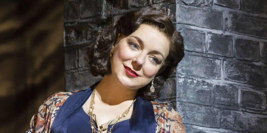 Sheridan Smith as Fanny Brice in Funny Girl. Photo by Johan Persson