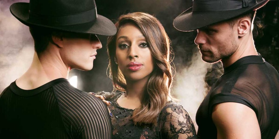 Alexandra Burke as Roxie Hart in Chicago credit Matt Crockett