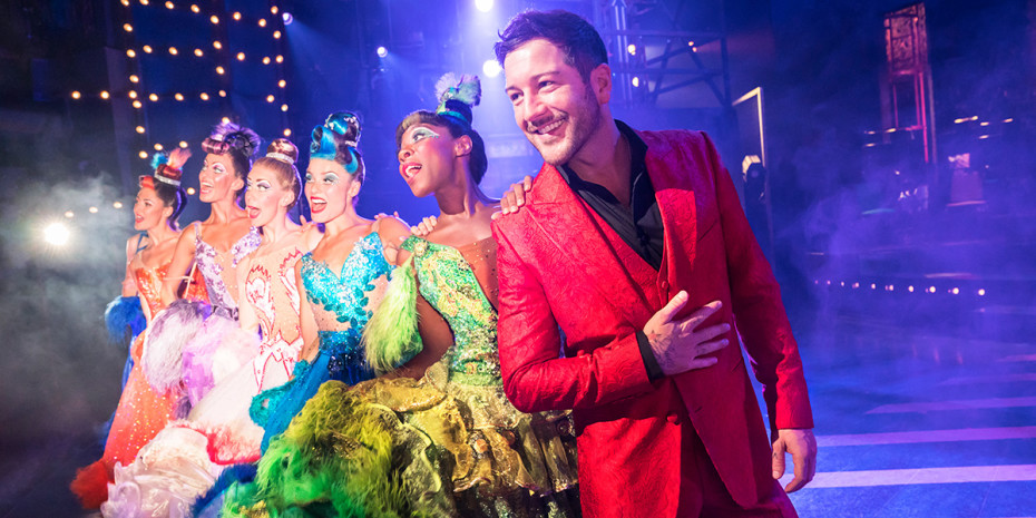 Matt Cardle and the cast of Strictly Ballroom (Photo: Johan Persson)