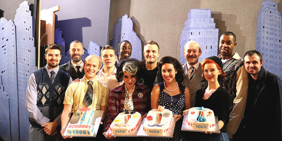 The Comedy About A Bank Robbery celebrates 1000 performances