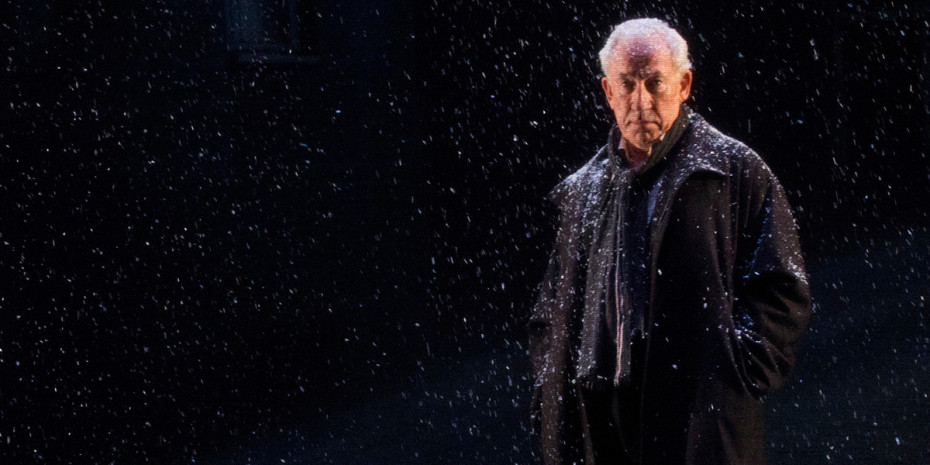 Simon Callow in A Christmas Carol (Arts Theatre)