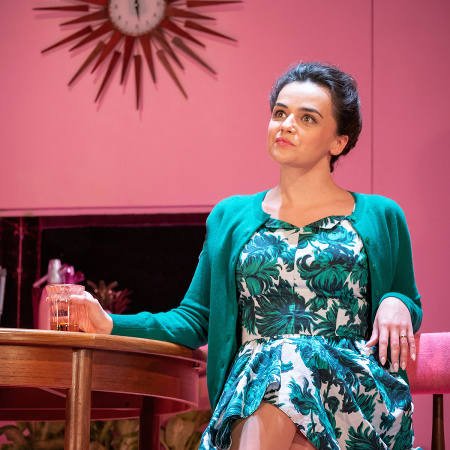 Hayley Squires in The Lover. Photo by Marc Brenner