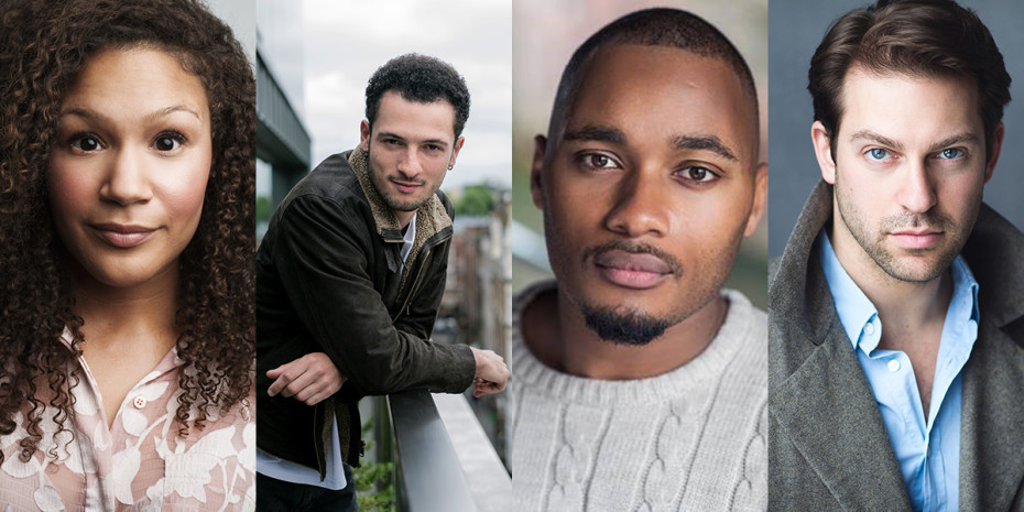 Allyson Ava-Brown, Jamael Westman, Dom Hartley-Harris and Jon Robyns will star in the second year of Hamilton