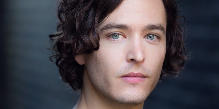 Alexander Vlahos in Peter Pan at the Park Theathre