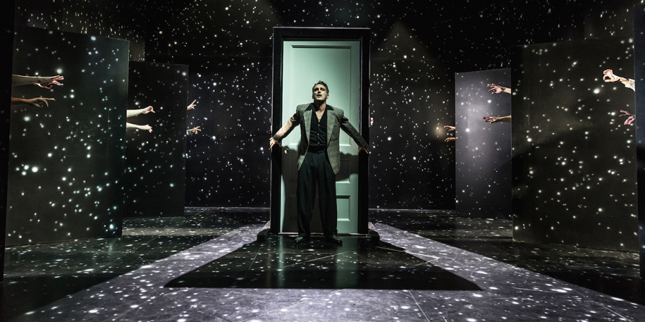 John Marquez in The Twilight Zone at Almeida Theatre (Photo: Marc Brenner)