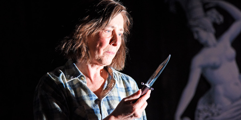 Phyllis Logan in Switzerland at Theatre Royal Bath (Photo: Nobby Clark)