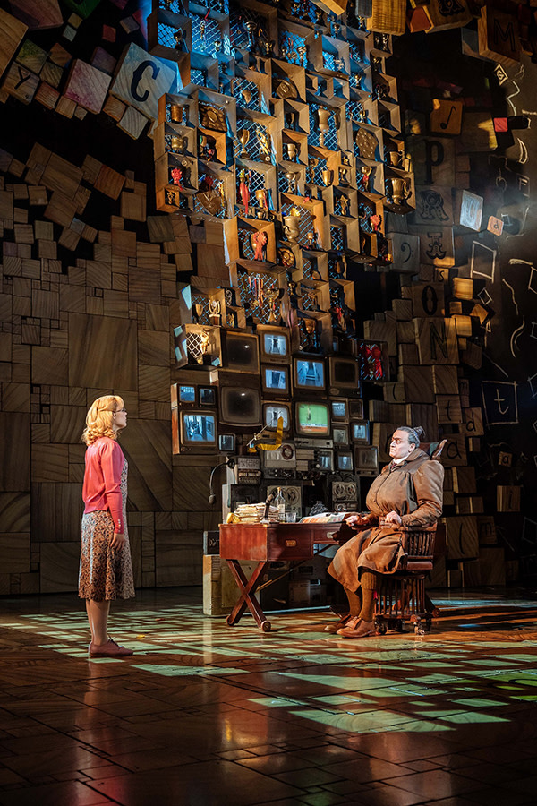 Matilda The Musical at Cambridge Theatre (Photo: Manuel Harlan)