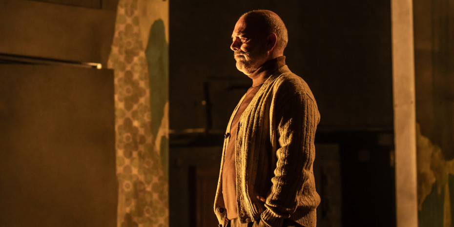 Keith Allen in Pinter Three. Photo credit Marc Brenner