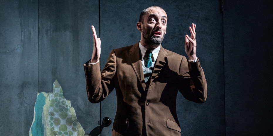 Tom Edden in Pinter Three. Photo credit Marc Brenner