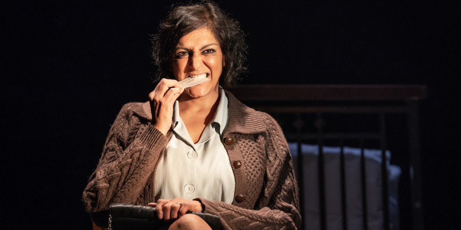 Meera Syal in Pinter Three. Photo credit Marc Brenner
