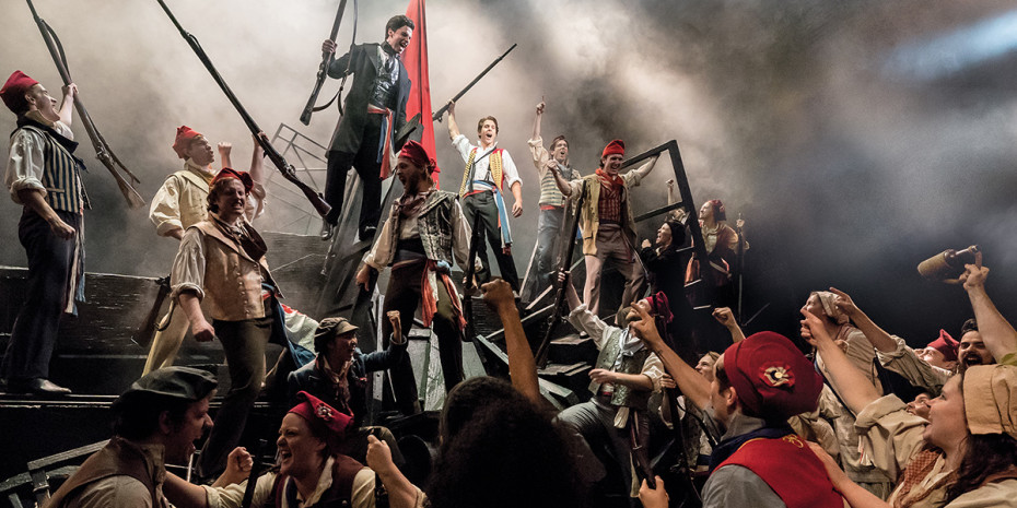 Les Misérables at Queen's Theatre