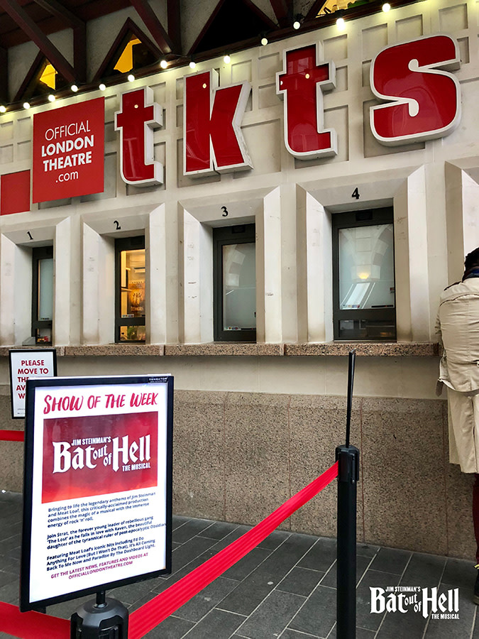 Bat Out Of Hell is Show Of The Week at TKTS