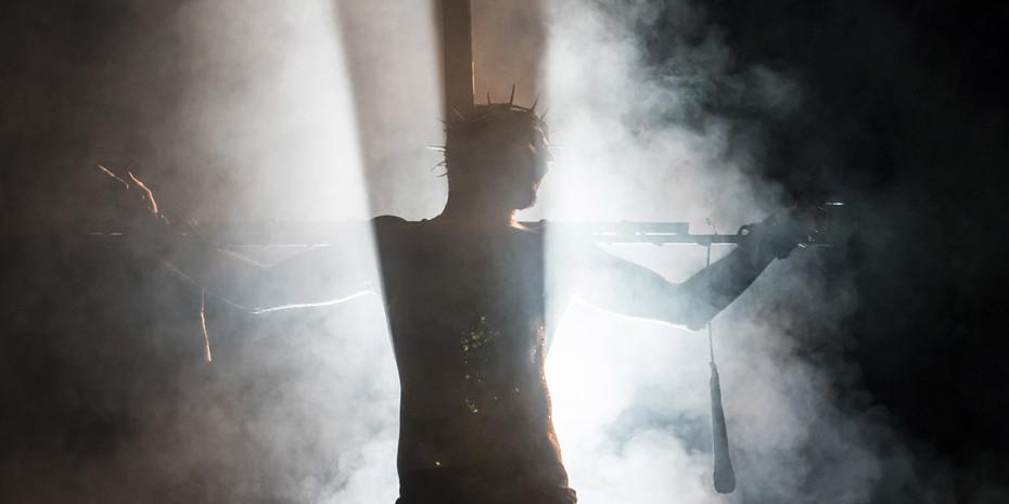 Declan Bennett as Jesus in Jesus Christ Superstar (Photo: Johan Persson)